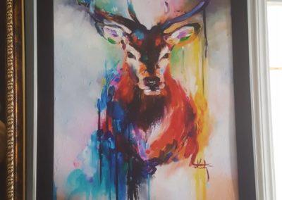 Arte en lienzografía