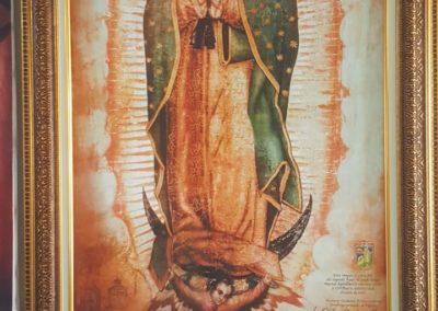 Lienzografía cuadro religioso