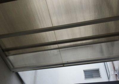 Techo en aluminio corredizo